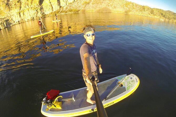 Awesome Stand Up Paddleboarding Adventure in a Sonoran Desert Oasis