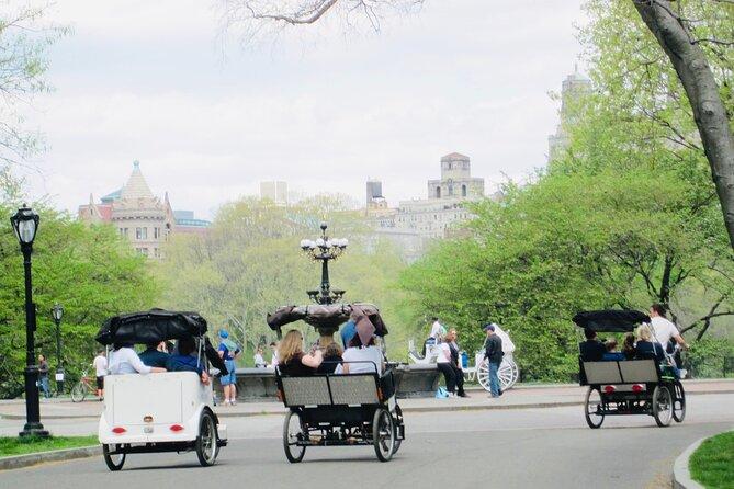 Official Central Park Pedicab Tours - 2Hrs