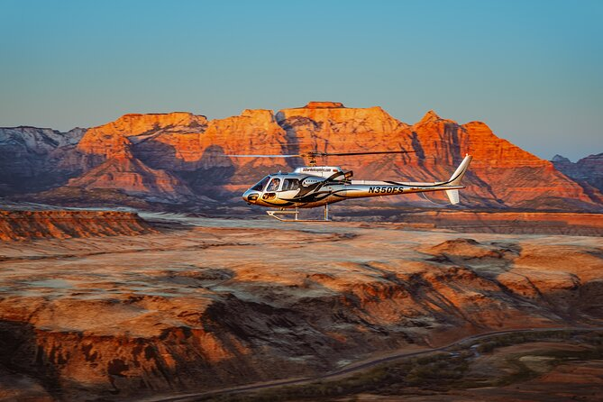 55 Mile - Helicopter Tour Around Zion National Park