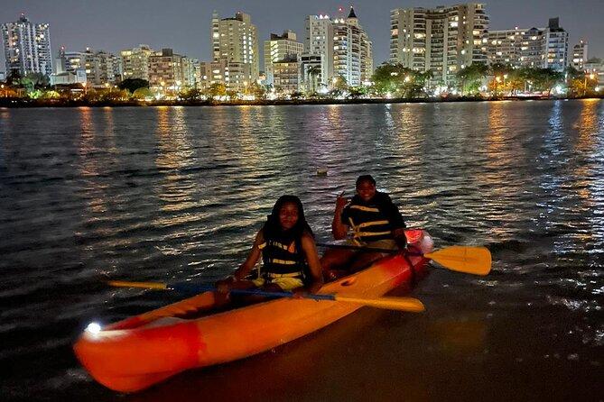 Night Kayak Guided Tour through the Condado Lagoon