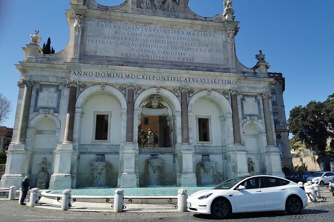 Private Guided Tour of Rome by Luxury Car with Driver