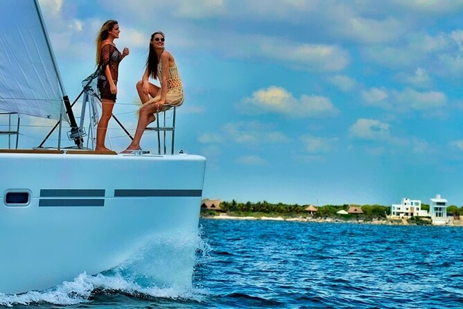 Isla Mujeres Catamaran Sailing Experience with Lunch & Open Bar
