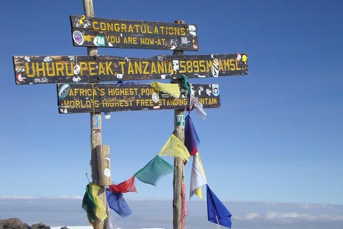Kilimanjaro Marangu Route 6 Days. (Oldest, easiest & well established)