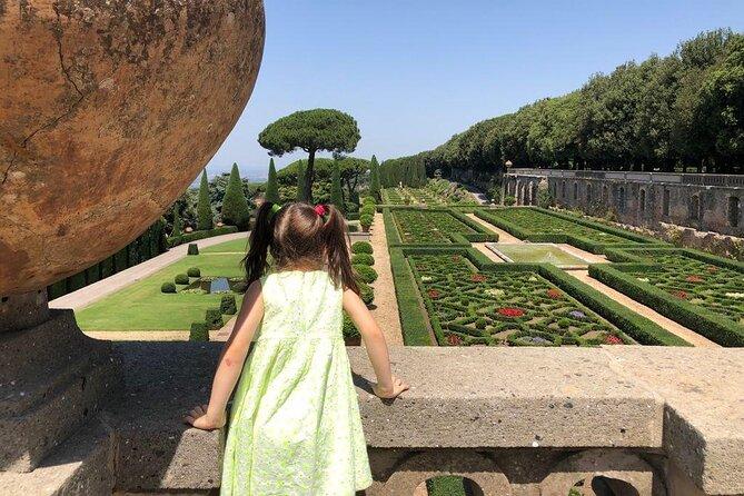 A Walk in the Pontifical Villas of Castel Gandolfo