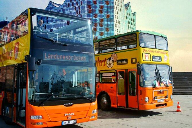Hamburg: Hop-On Hop-Off Sightseeing Tour - Orange Bus