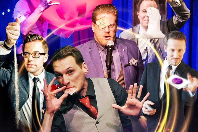 Award winning magic show at The Magicians Agency Theatre.