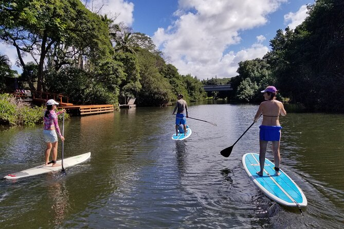 Stand Up Paddle to Heaven Lesson and Tour
