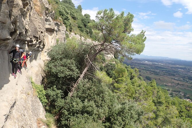 Climbing Adventure in Via ferrata of Centelles