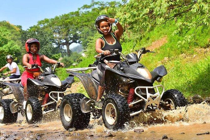 ATV, River Tubing & Blue Hole Falls From Ocho Rios, Montego Bay & Negril