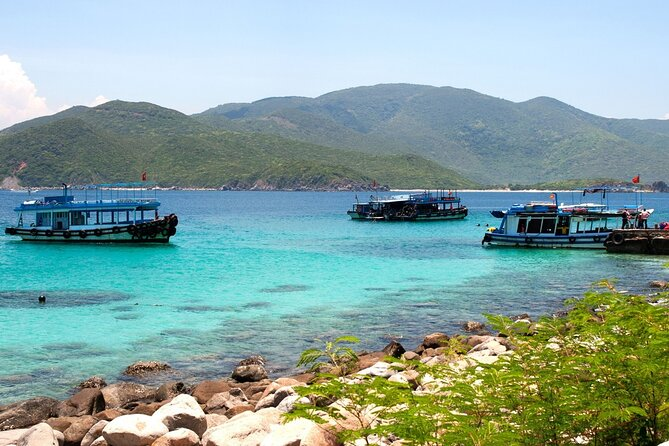 The Tropical Islands of Nha Trang Bay