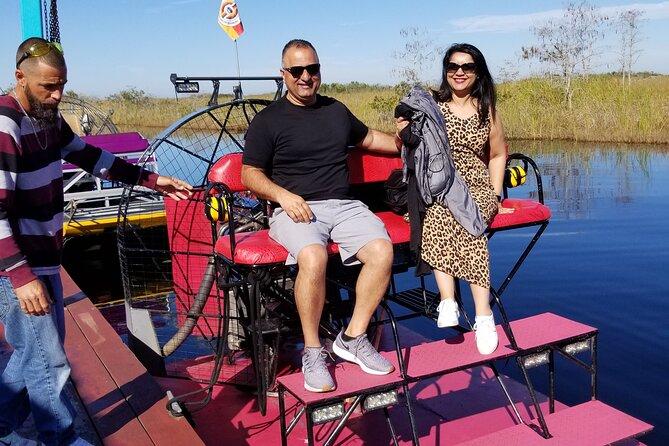 Half-Day Private Miami Tour with an Airboat Experience