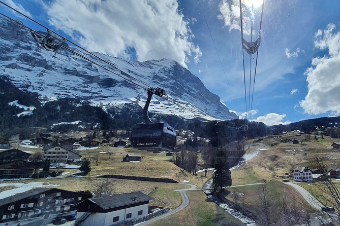 Eiger North Face Scenic Small Group Tour from Interlaken