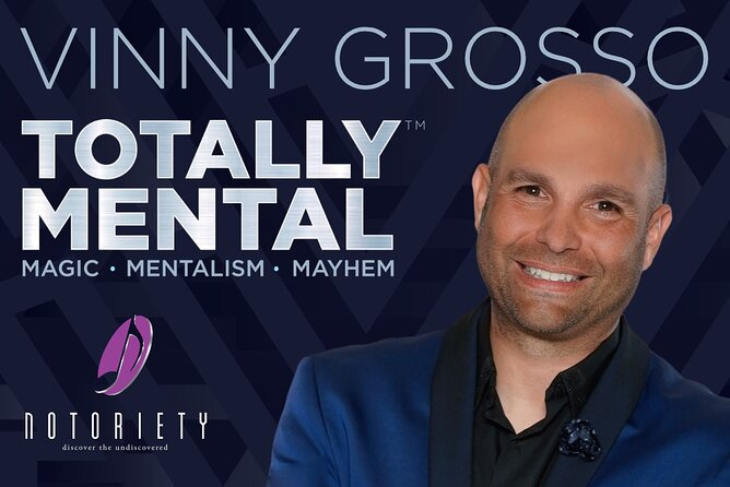 Totally Mental starring Comedy Magician Vinny Grosso
