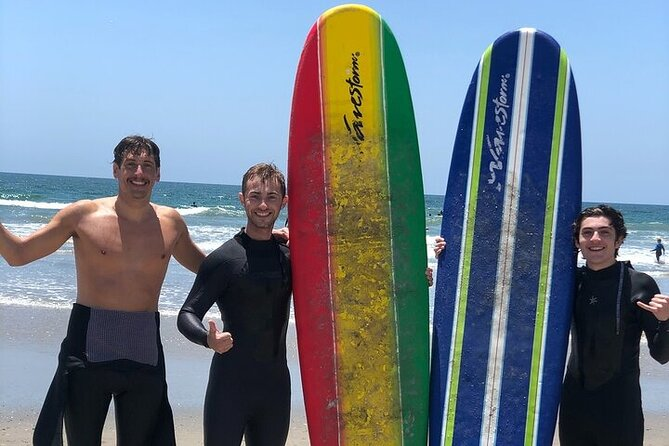Group Surf Lesson for 2 with a Local Surf Coach in Jacksonville