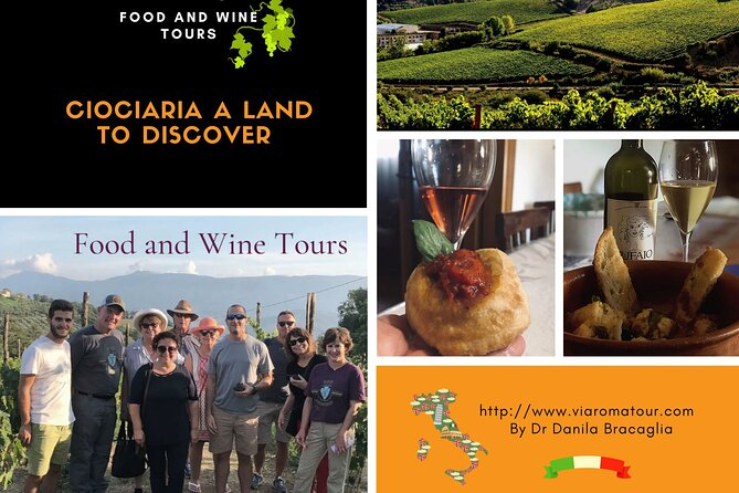 Art, Food and Wine tour in the Roman Countryside