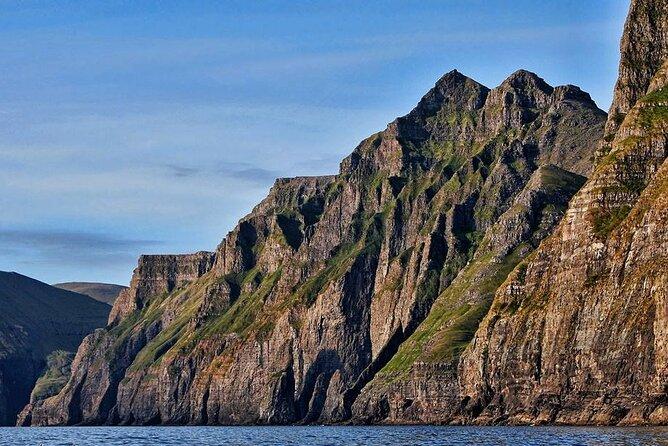 Vestmanna Bird Cliffs and Viking Settlements From Tórshavn
