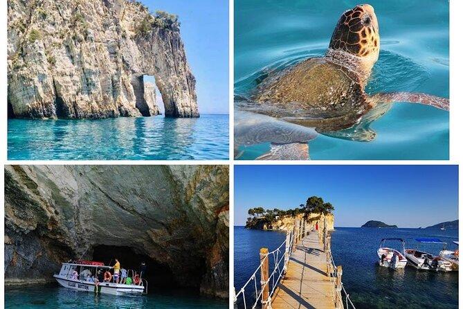 Turtle Spotting, Keri Caves, Marathonisi and Cameo Island Tour