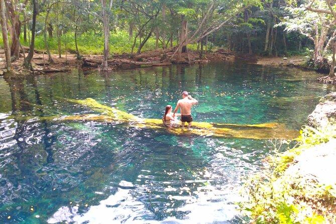 Half Day Private Tour Hoyo Claro Cenote + Juanillo Beach + Lunch at the beach