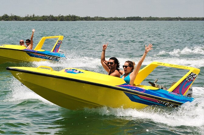 Speedboat and Snorkeling Tour in Cancun: Jungle Tour
