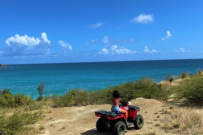 4-Hour ATV Afternoon Guided Tour plus Philipsburg & Airport Beach