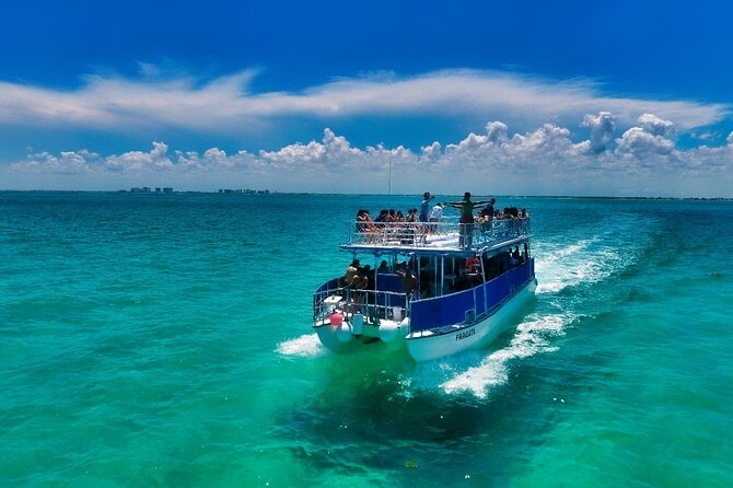 Discovering Isla Mujeres on a Double Decker Catamaran