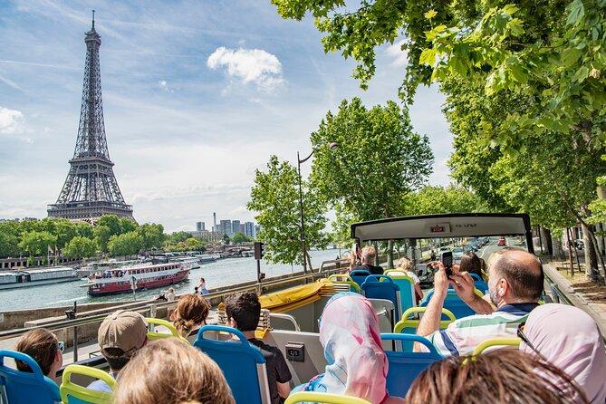 Tootbus Paris Discovery: Hop-On Hop-Off Bus Tour