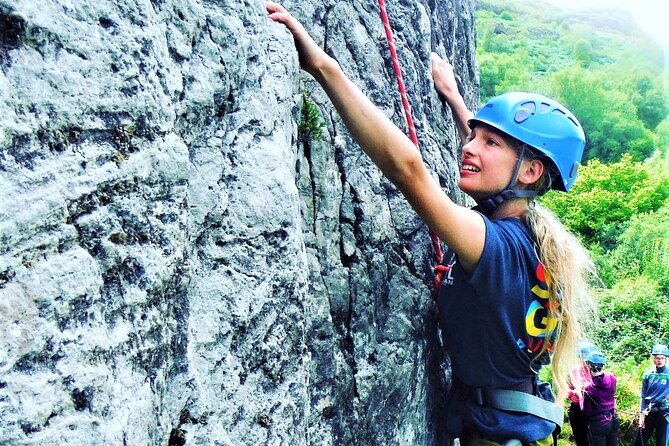 Rock Climbing and Abseiling in the Mountains of Sligo
