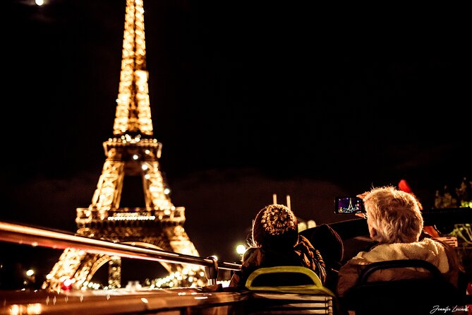 Paris By Night Hop On Hop Off Sightseeing Bus Tour