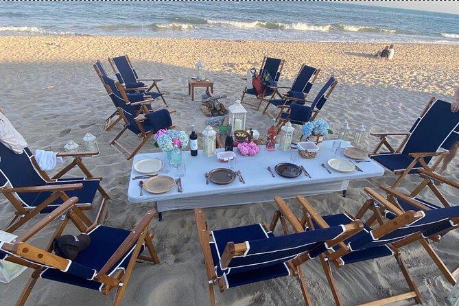 Luxury Beach Bonfire and Picnic Dinner in Montauk