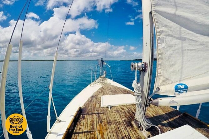 Private - Bacalar sailing across the mesmerizing waters