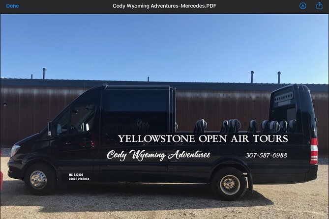 Yellowstone Open Air Tours by Cody Wyoming Adventures
