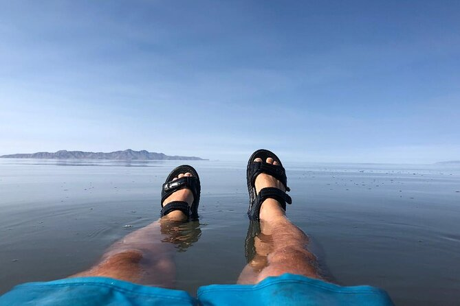 2 Hour Salt Lake Boat Tour with Swimming on the Lake