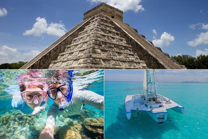 Combo Saver: Chichen Itza & Cenote + Isla Mujeres Catamaran