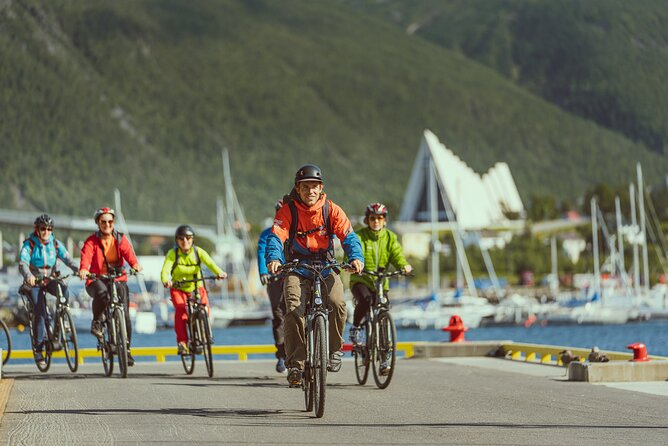 Ontdek Tromso per e-bike - Geleide rit op elektrische fiets in Tromsø