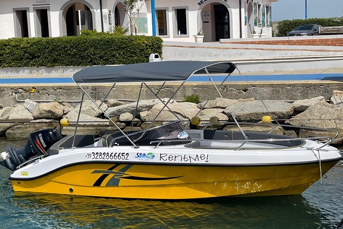 BOAT RENT limited edition 2021, full optional, 7 people. 1/2 day TOP in Tropea