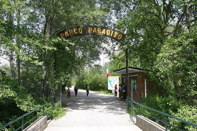 Ticket for the Paradiso Fish Park in Zelo Buon Persico