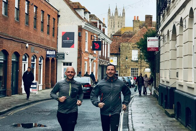 Small-Group City Running Tour in Canterbury