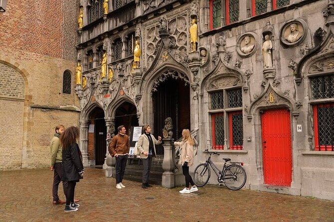Bruges From Paris All Day Guided Private Tour