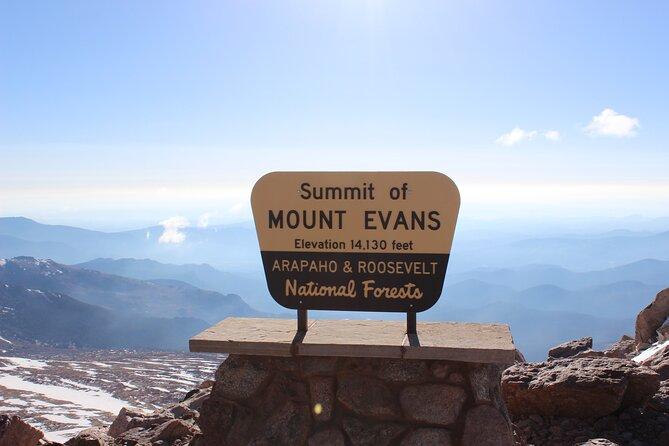 Private Day Tour van Mt Evans uit Denver
