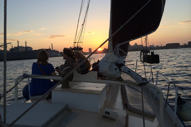 Moonlight Sail in Baltimore Harbor