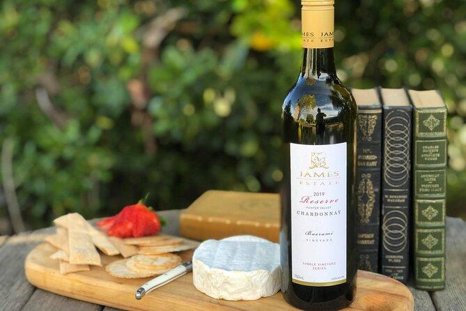 JAMES ESTATE WINES – POKOLBIN: Wine & Cheese Tasting