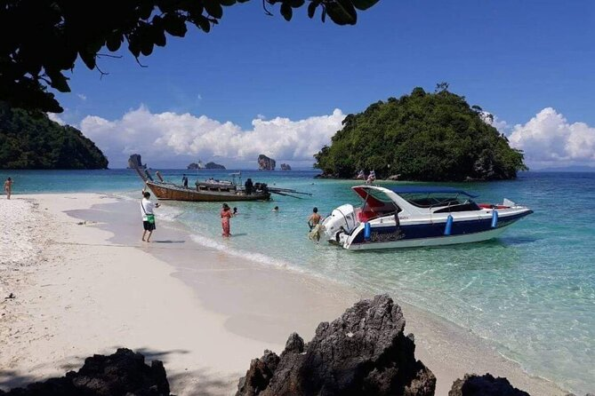 Full-Day Phranang Bay Water Tour in Krabi