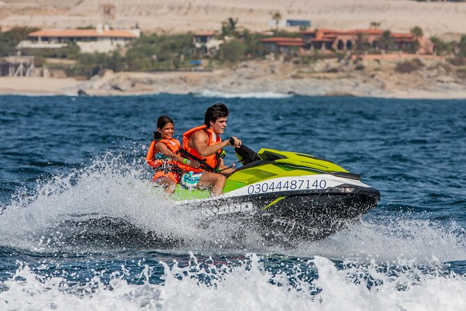 Double Jet Ski and Boat Ride in The Sea of Cortez Guided Tour