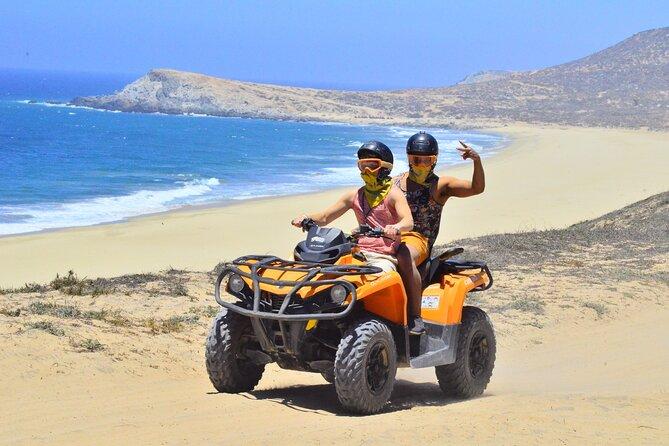 Los Cabos Margaritas beach in ATV/UTV desert tour
