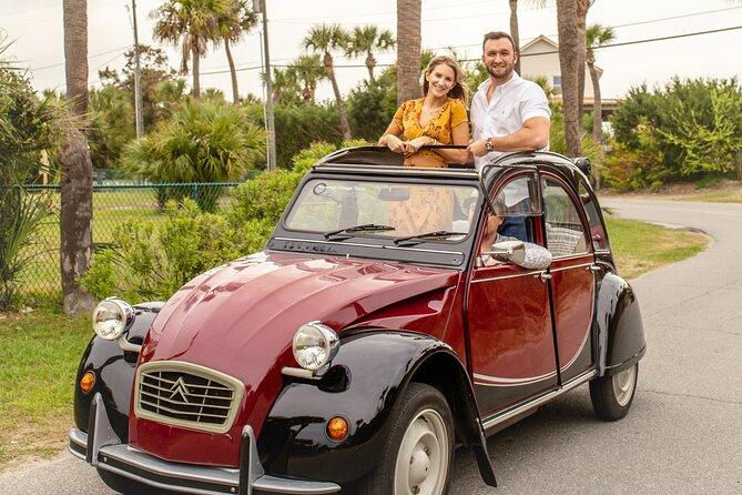 Private Historic Savannah Tour in a Vintage Citroën