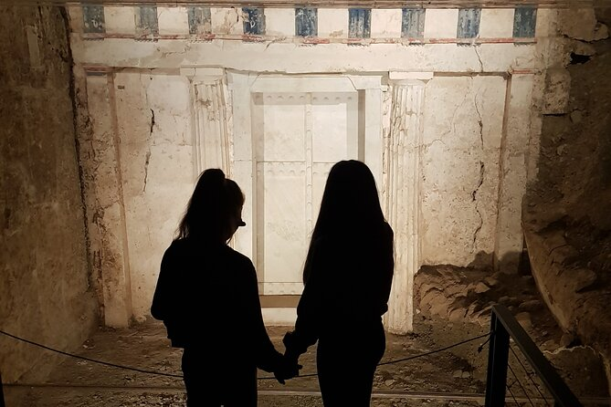 Private Tour from Hotels in Kalithea to Royal Tombs and King Philippos Museum