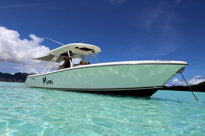 Mahe - Praslin Private boat transfer (up to 10 pax)