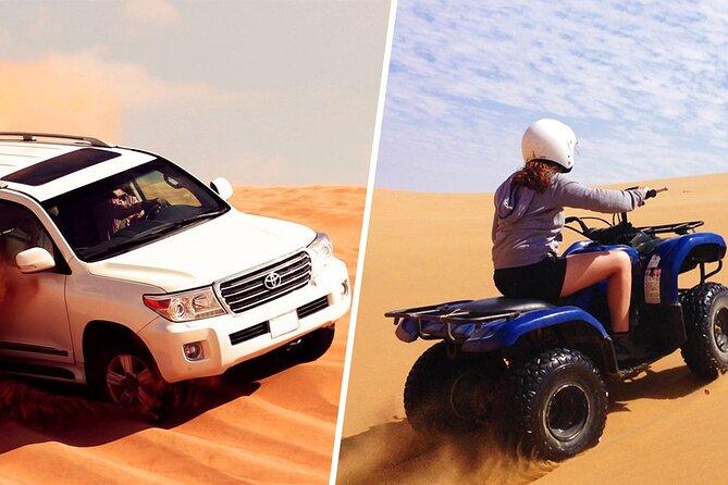 Dubai Red Dune Safari with Quad Bike, Sandboard & Camel Ride