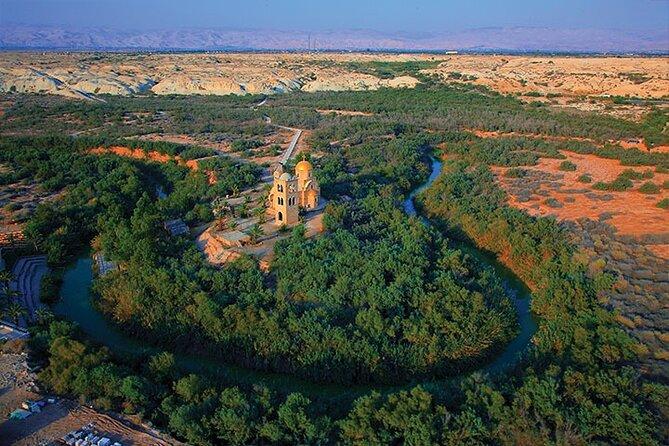 Bethany Baptism Jordan River Site Visit from Dead Sea