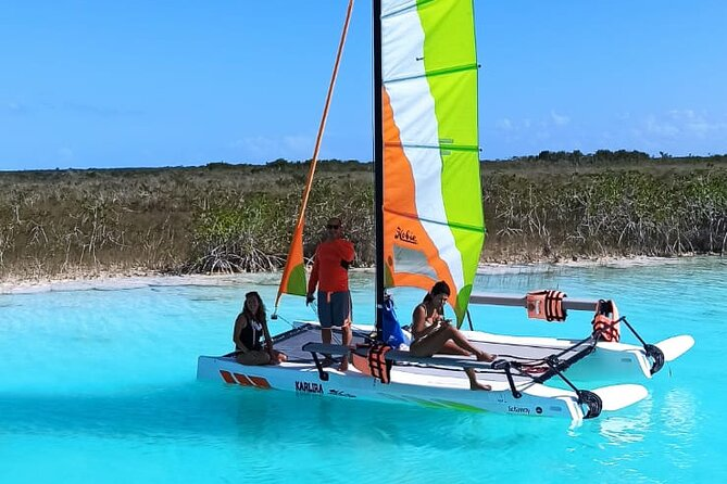 Private Catamaran Tour in Bacalar Lagoon